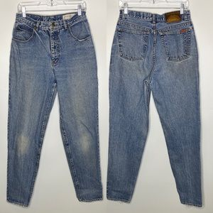 Lawman Vintage High Waisted Tapered Jeans